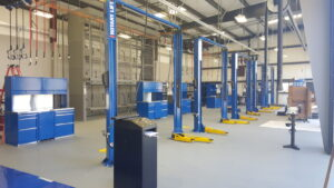 Automotive Lifts In Facility